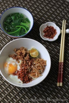 Dry Chilli Pan Mee Noodles
