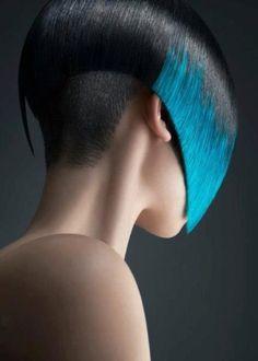 Futuristic Hairstyle, Future Girl, Futuristic Look, Azure by FuturisticNews.com