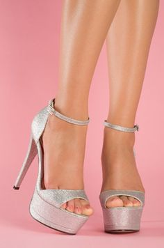 Silwer sandals - I Love Shoes, Bags & Boys