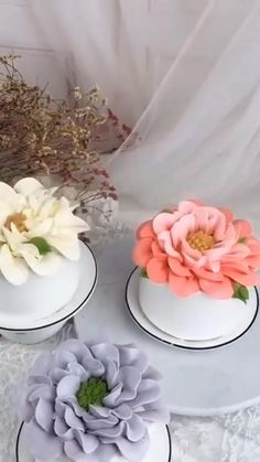 Cake Decorating Frosting, Cake Decorating Set, Cake Decorating Videos, Cake Decorating Techniques, Cake Recipes Without Oven, Cake Recipes From Scratch, Easy Cake Recipes, Pretty Cakes, Beautiful Cakes