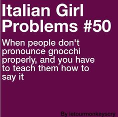 Italian Girl Problems #50