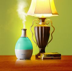 Humio humidifier (can add scents to water; ex., lavender, eucalyptus, etc.)