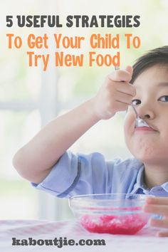 Many young children are fussy eaters and resistant to trying new foods. Here are some strategies to get your child to try new food. Gentle Parenting, Parenting Advice, Motivation For Kids, Every Mom Needs, Thing 1, Happy Mom, Parent Resources, Raising Kids, Childcare