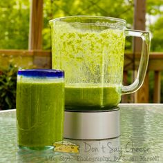 Fantastic cleansing, vitamin-packed smoothie!  Makes 32 oz.  Put the following into the blender, in this order:    1 c water;  1 banana;  3/4 c pineapple;  1 mango, peeled and sliced;  4 oz. fresh spinach.  Blend.  Add a few ice cubes, blend again, enjoy this healthy juice that tastes NOTHING like spinach!