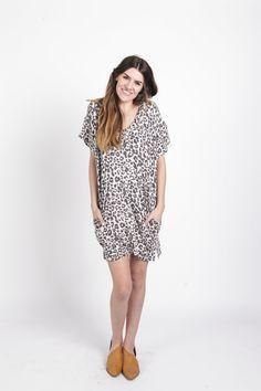 Adrienne Cheetah Dress