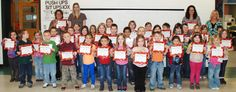 Staff and Students Commended for Perfect Attendance at Collins Elementary