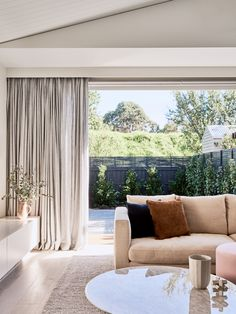 Heart Home | GOLDEN. Minimalist CurtainsMinimalist Living RoomsMinimalist  WindowModern MinimalistElegant Living RoomModern ...