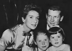 Deb with Tony (her first husband) and their daughters Melanie and ...