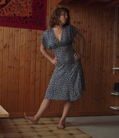 Marie, Wrap Dress, 2013, Summer Dresses, Sewing, Inspiration, Vintage, Patterns, Style