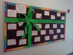 "December Bulletin Boards | Christmas/ December bulletin board idea: ""Wrapping Up ... 