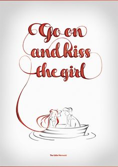 A self-initiated series of typographic posters based on Disney quotes