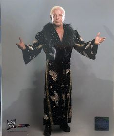 A custom message from Nature Boy on photograph Ric Flair (example: Happy Birthday Fred! (ric flair signature below). Pretty Boy Floyd, Ric Flair, Space Mountain, Wrestling Superstars, Iron Gates, Wwe Wrestlers, Series 3, Memphis, Pretty Boys