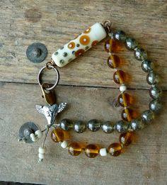 Amberosia by LoreleiEurtoJewelry  love that bead