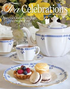 Celebrate special occasions like birthdays, Christmas, Easter, Valentine's Day, Mother's Day, and more with creative menus for afternoon tea in Tea Celebrations.   This new 96-page hardback book from TeaTime magazine features:•More than 70 delicious recipes•Beautiful color photography•Inspiring tablescapes•Expert tea pairings