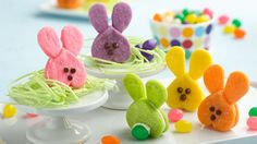 Cute and colorful, these bunny sandwich cookies are as adorable from the back as they are from the front!  Learn to make this recipe with our how-to.