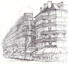 Paris deux magots