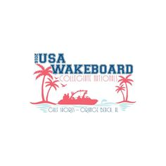 The 2016 USA wakeboard collegiate nationals is hitting the beach. College wakeboard athletes from across the country will compete at the Flora Bama Lounge in Gulf Shores and Orange Beach on September 14-17.