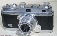 Foca ** - n° 58.354 B - Fabriqué en France par O.P.L. (Optique et Précision de Levallois) entre 1947 et 1959.