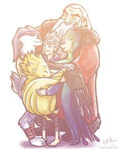 Group hug by tugaMaggie.deviantart.com on @deviantART