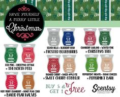 Have yourself a merry little Christmas!  As always, bars are 6 for $25, 3 for $14, or $5 each ❤️ #ScentRecipes #FallWinter2016 #scentsy