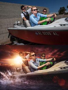 Before and After edits - Merek Davis