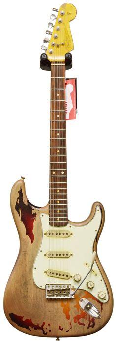 Fender Custom Shop Rory Gallagher Strat 3 Tone Sunburst #R69058