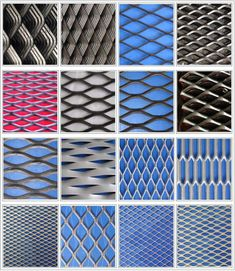 Expanded metal grill grates