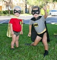 Coolest Little Boy Batman and Robin Couple Costume… This website is the…