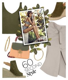 60 Second Style: Asymmetric Skirts by dixiebelle81 on Polyvore featuring polyvore fashion style WearAll Bassike Seychelles Burberry Bony Levy clothing