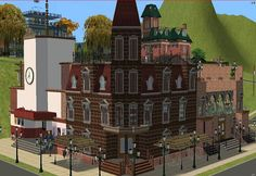 Mod The Sims - Cafe Corner