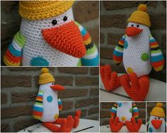 Pattern for Mad Penguin in Dutch