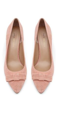 c43cc2d8986 Trendy Wedding Shoes Flats Pink Bow Heels 68+ Ideas #wedding #heels Estilo  De