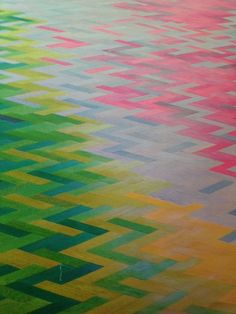 Coloured parquet, amazeballs!!