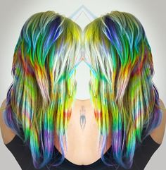 Glow in the dark hair extensions haunted mansion pinterest lox hair extensions on instagram holographic hair that glows in the dark link is pmusecretfo Choice Image