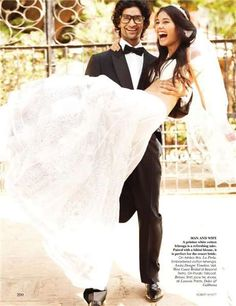Vivid Wedding Preparations - Vogue India November 2010 is Colorful as it is Beautiful (GALLERY)