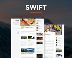 Swift – Responsive WordPress Blog Theme
