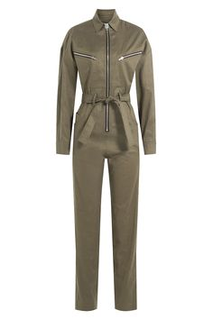 Iro Jumpsuit With Linen And Cotton In Green Tough Girl, Playsuit Romper, Playsuits, Jumpsuits, Urban Chic, Catsuit, Aesthetic Clothes, Work Wear, Rompers
