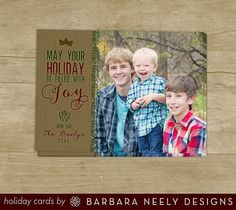 Woodsy & Rustic Hand Drawn Holiday Cards by bndesigns on Etsy