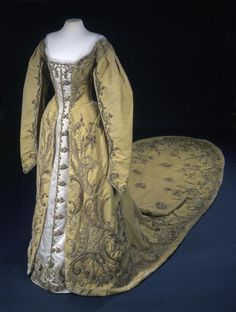 Fripperies and Fobs...Court dress, late 19th-early 20th century
