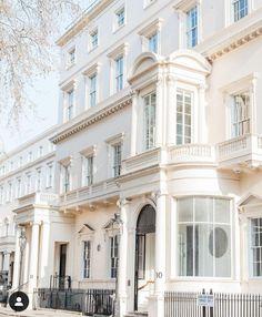 Carlton House, London Townhouse, Terrace, Mansions, Architecture, House Styles, Home Decor, Balcony, Arquitetura