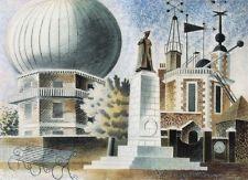 Greenwich Observatory - 1937 - Eric Ravillious