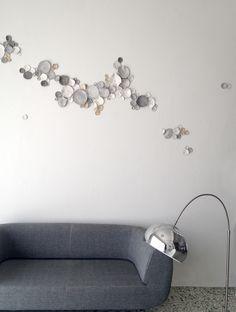 wall art installation