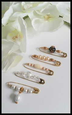 5PCS Vintage Inspired Safety Pin Brooch~Scarf/Shawl/Hijab Pin/Kilt Pin Set in Jewellery & Watches, Costume Jewellery, Brooches & Pins | eBay!