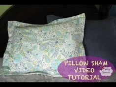 How to make a Pillow Sham- DIY Tutorial & Giveaway - YouTubeCheck it out. Also don't forget to enter the give-a-way!