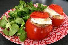Tomate farcies au boulgour et chêvre - 3sp