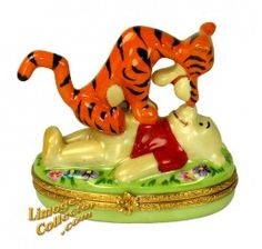 Winnie the Pooh & Tigger Disney Limoges Box (Artoria) ♥≻★≺♥