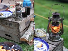Need to go camping! Now, that would be a very inconvenient lantern, but at least it looks cool!