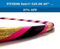 """FITNESS Sale!!! $25.00 40"""""""" Hula Hoop Queen. DIRECT FROM THE MANUFACTURER. Featuring the original manufacturer of the """"BREAK AWAY"""" the newest innovation in hula hooping. Paradise Hoops is formally the manufacturer for about 90% of Hoopnotica's handmade hula hoops. We have the BEST QUALITY BEST PRICE. This """"BREAK AWAY"""" hula hoop was created by Janou Lightning former team leader of Hoopnotica. She took her expertise in the hooping industry and made a hoop that is easy to break down to…"""