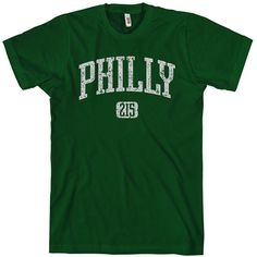 Philly 215 T-shirt - Men and Unisex - Philadelphia Tee - XS S M L XL 2x 3x  4x - 4 Colors 835a52a27