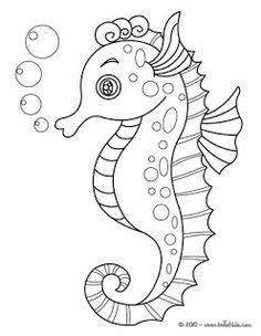 Seahorse coloring page. Find your favorite Seahorse coloring page in SEAHORSE coloring pages section. Free SEAHORSE coloring pages available for printing . Horse Coloring Pages, Colouring Pages, Adult Coloring Pages, Coloring Sheets, Coloring Books, Online Coloring, Coloring Pages For Kids, Kids Coloring, Fish Coloring Page